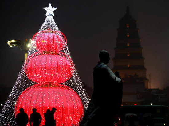 СМИ: власти китайского городского округа Ланфан запретили Рождество