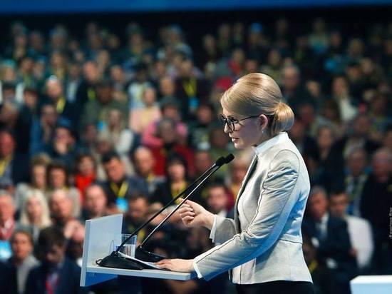 Соцопрос: украинцы голосуют за Тимошенко