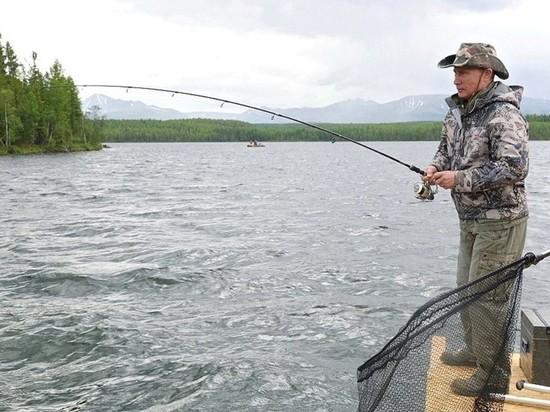 Путин подписал закон о бесплатной любительской рыбалке