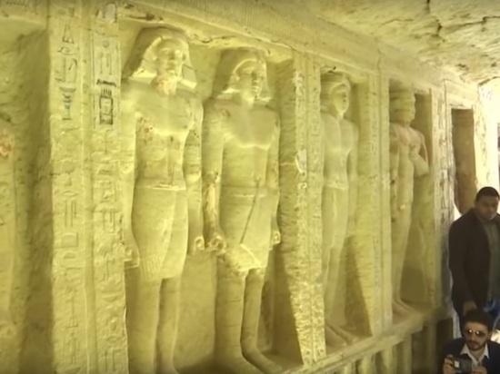 В Египте откопали уникальную гробницу