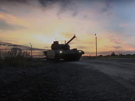 Минобороны обещало в 2019 году испытания танка «Армата»