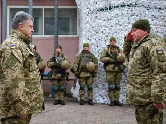 Украина начала переброску войск к Азовскому морю