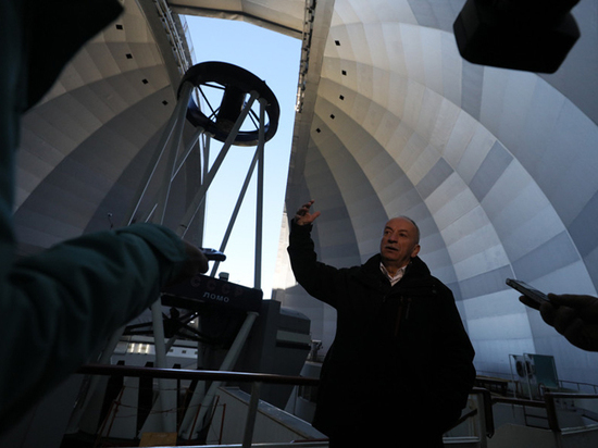 Самый большой российский телескоп нацелился на массивные звезды