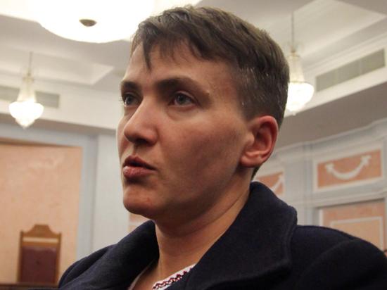 Савченко потребовала выгнать из властей Украины всех «подлецов и придурков»