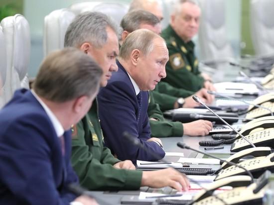 Минобороны в присутствии Путина испытало ракету «Авангард»