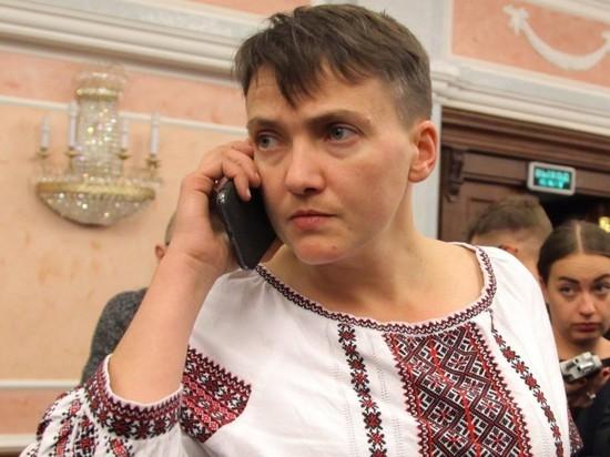 Савченко выдвинули кандидатом в президенты Украины