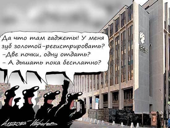 Сенатор Бокова оправдалась за «налог на смартфоны»