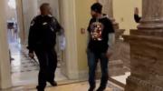 Офицер полиции Капитолия Юджин Гудман назван « героем »