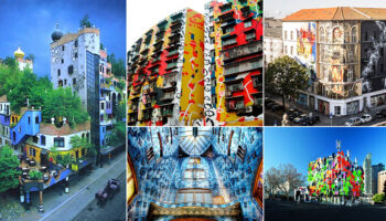 Top 10 brightest and most colorful houses in the world