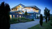 Невероятный высокотехнологичный дом мечты инженера в стиле хайтек
