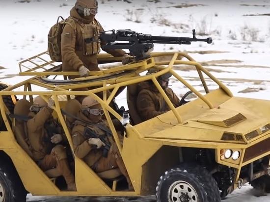 Интернет высмеял новый боевой автомобиль Украины