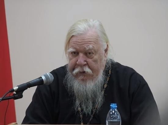 Протоиерей РПЦ обругал Украину: «У церкви Порошенко ничего нет, кроме параши»