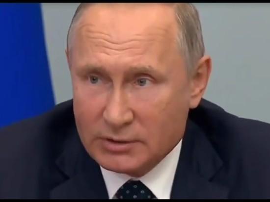 Путин прилетел в Магнитогорск