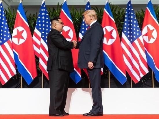 Ким Чен Ын заявил о готовности снова встретиться с Трампом