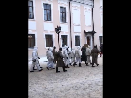 В Великом Новгороде вопреки протесту МИД ФРГ провели «пленных немцев»