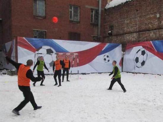Как в «Бутырке» готовятся к футболу с Мамаевым: уникальные фото